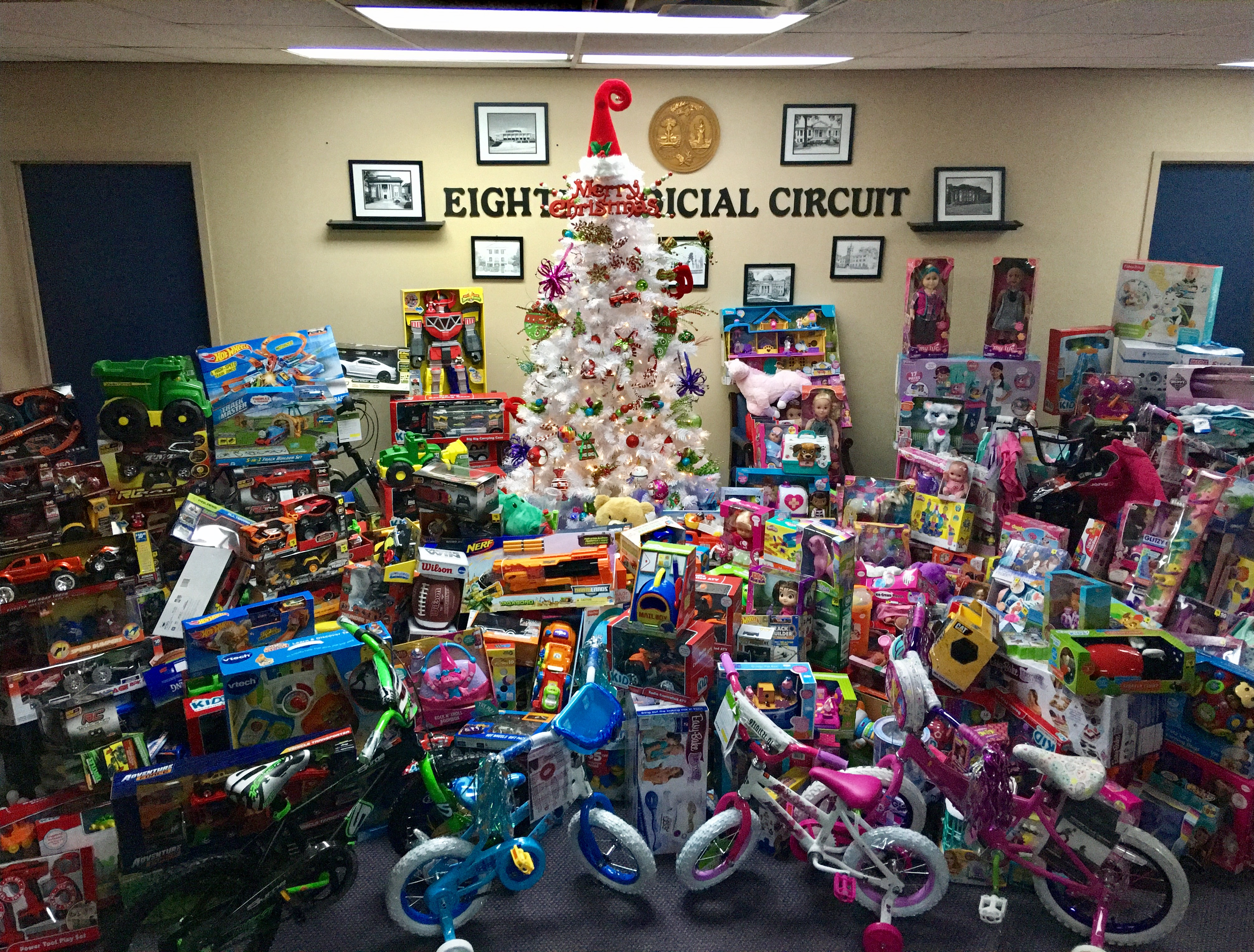 Christmas Toys For The Needy : Christmas toys distributed to needy children of th